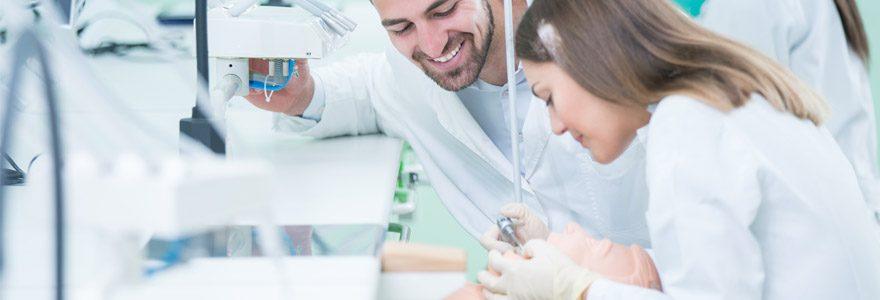 Formation d'odontologie pour devenir chirurgien dentiste